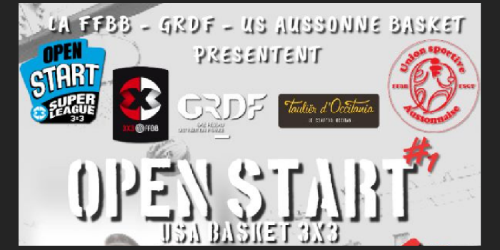 Tournoi Open Start 3×3 – 19 mai 2019 featured image